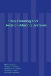 Cover of: Library planning and decision-making systems