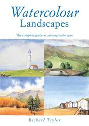 Cover of: Watercolor Landscapes