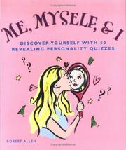 Cover of: Me, Myself, and I