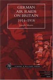 Cover of: German Air Raids on Great Britain 1914-1918