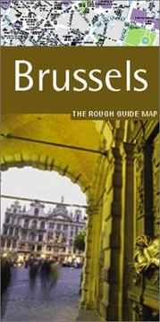 Cover of: The Rough Guide to Brussels Map