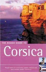 Cover of: The Rough Guide to Corsica 4 | David Abram