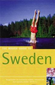 Cover of: The Rough Guide to Sweden 3