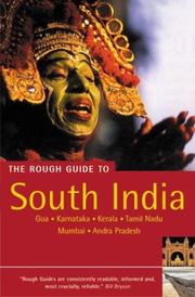Cover of: The Rough Guide to South India 3 by ROUGH GUIDES