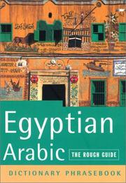 Cover of: The Rough Guide to Egyptian Arabic Dictionary Phrasebook 2 (Rough Guide Phrasebooks) | Lexus