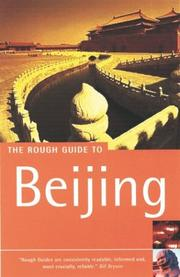 Cover of: The Rough Guide to Beijing