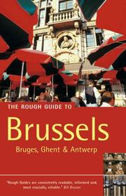 Cover of: The Rough Guide to Brussels 3 (Rough Guide Travel Guides) | Martin Dunford