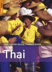 The Rough Guide to Thai Dictionary Phrasebook 3 (Rough Guide Phrasebooks)
