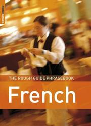Cover of: The Rough Guide to French Dictionary Phrasebook 3