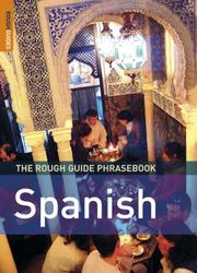Cover of: The Rough Guide to Spanish Dictionary Phrasebook 3