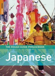 Cover of: The Rough Guide to Japanese Dictionary Phrasebook 3