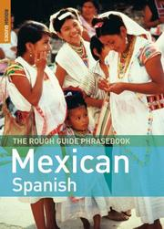 Cover of: The Rough Guide to Mexican Spanish Dictionary Phrasebook 3