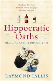 Cover of: Hippocratic Oaths