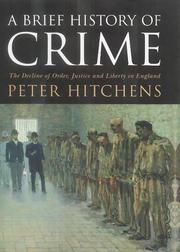 Cover of: A Brief History of Crime