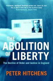 Cover of: The Abolition of Liberty