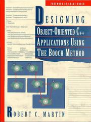 Cover of: Designing object-oriented C++ applications using the Booch method | Martin, Robert C.