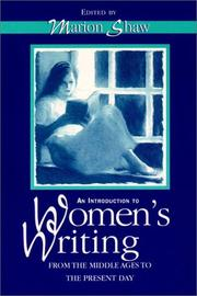 Cover of: Introduction to Women