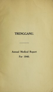 Annual medical and sanitary report