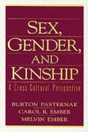 Cover of: Sex, gender, and kinship