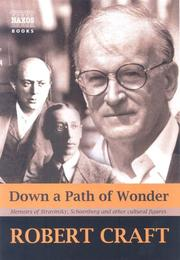 Cover of: Down a Path of Wonder