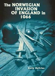 Cover of: Norwegian Invasion of England in 1066