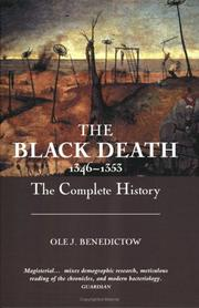 Cover of: The Black Death 1346-1353 | Ole J. Benedictow