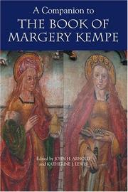 Cover of: A companion to The book of Margery Kempe