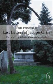 Cover of: The Last Letters of Jacopo Ortis (Hesperus Classics)