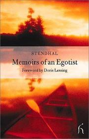 Cover of: Memoirs of an egoist