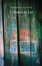 Cover of: A House to Let