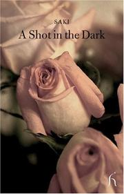 Cover of: A Shot in the Dark