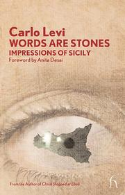 Cover of: Words are stones: impressions of Sicily.