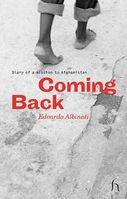 Cover of: Coming Back: Diary of a Mission to Afghanistan
