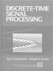 Cover of: Discrete-time signal processing