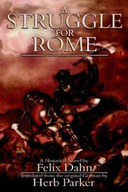 Cover of: A Struggle For Rome
