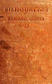 Cover of:  | Gosse, Edmund Sir