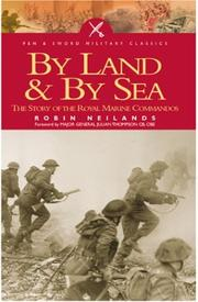 Cover of: By Sea and Land
