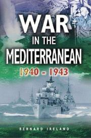 Cover of: The war in the Mediterranean, 1940-1943