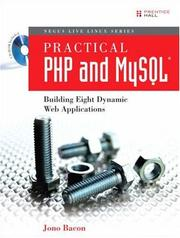 Cover of: Practical PHP and MySQL(R) | Jono Bacon
