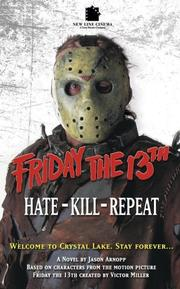 Cover of: Friday The 13th 3 | Jason Arnopp