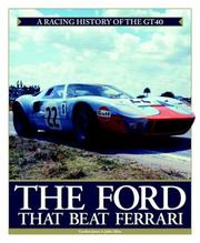 Cover of: The Ford that beat Ferrari