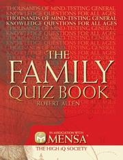 Cover of: Mensa Family Quiz Book