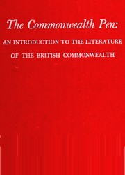 Cover of: The Commonwealth pen | edited by A.L. McLeod.
