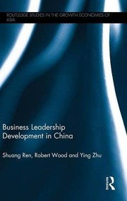 Cover of: Business Leadership Development in China
