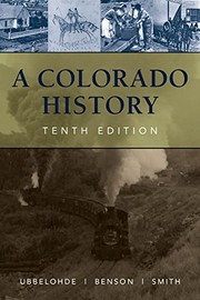 Cover of: A Colorado History, 10th Edition