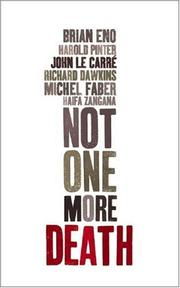 Cover of: Not One More Death