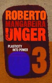 Cover of: Plasticity Into Power (Politics, Volume 3)