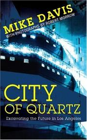 Cover of: City of quartz