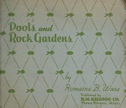 Cover of: Pools and rock gardens | Romaine B. Ware (Firm)