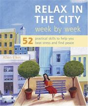 Cover of: Relax In The City Week By Week